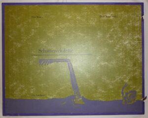 Schattenviolette. 11 Gedichte von Dora Koster in 11 Bildern von Peter Weiersmüller. Edition Der Landbote, München 1984, elf grossformatige Drucke.